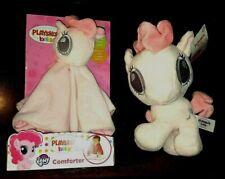 Playskool Baby - My Little Pony Pinkie Pie Comforter & Plush Soft Toy - NEW