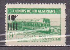 Colonies Françaises Variété Algérie Colis postaux Maury N°182b **/ MNH -Yv N°169