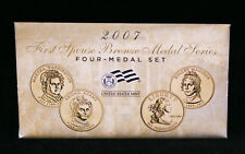 2007 First Spouse Bronze Medal Set -- Four Medals in Original Mint Packaging