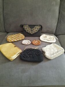 Vintage ladies evening clutch bags(joblot)