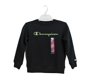 Champion Boy Sweater, Black, Size 7/8, New