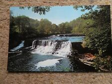 COLOURMASTER.POSTCARD. OF YORKSHIRE DALES,MIDDLE FALLS AYSGARTH. NOT POSTED