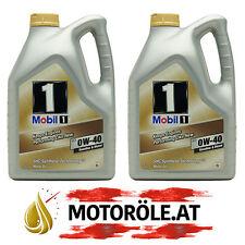 10 Liter Mobil 1 FS 0W-40 Motoröl - MB 229.5, Porsche A40 (ehem. NEW LIFE) 10l