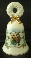 Avon Collectible Christmas Bell Vintage Figurine
