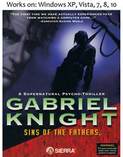 Gabriel Knight: Sins of The Fathers PC Game