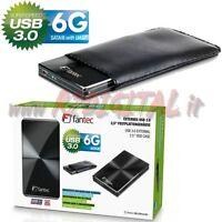 EXTERNE BOX 2,5 HARD DISK DRIVE USB 3.0 ALUMINIUM PC COMPUTER SATA TRAGBAR HDD