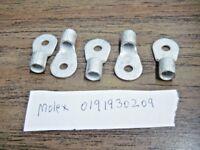 Molex 0191930209 #6 Gauge Crimp Terminal Ring Connector Qty = 5