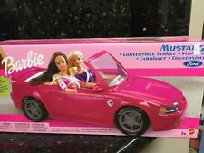 Barbie Car Red Ford Mustang  Convertible Brand New Last One