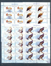 MOLDOVA 2007 SHEETS BIRDS  MNH