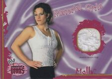 MOLLY HOLLY 2002 WWE Divas Material Girls EVENT WORN EMBROIDERED TOP *Very Rare*