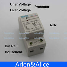 60A automatic recovery reconnect over and  under voltage protective device relay