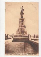 Port Said Lesseps Statue Vintage Postcard 560a