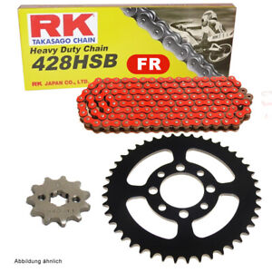 Chain Set Suitable For Kymco Pulsar 125 01-05 Chain RK Fr 428 Hsb 126 Open