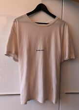 Saint Laurent Small Logo T-Shirt Rive Gauche Mens Tee NEW with Tags