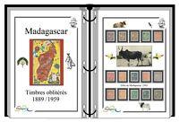 Album de timbres à imprimer  MADAGASCAR