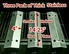 Smoke Hollow Grill 7000CGS Thick Stainless Steel Heat Plates Flame Tamers 14&1/4