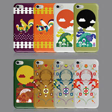 Folk Country fábula Animales Funda de Teléfono para iPhone 7 8 XS XR Samsung S8 S9 Plus
