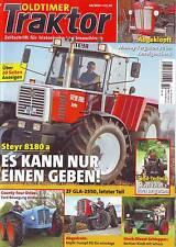 Oldtimer Traktor 10/15 Steyr 8180a/County Four Drive/Köpfli Trumpf/Stock/2015