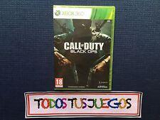 Call Of Duty Black Ops Pal ES Xbox 360 Edition PRECINTADO