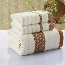 3 pc cotton shower 70x140cm spa bath towel Bathroom beach Towels unisex USA4