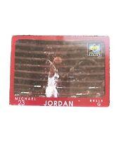 Michael Jordan 1997-98 Upper Deck Diamond Vision #4 - Bulls - RARE -