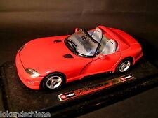 Dodge Viper  1992   Bburago 1:24 #L228