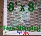 8' x 8' Clear Poly Tarp Room Divider Patio Porch Enclosure Fumigation Curtain