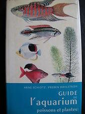 Guide de l'aquarium, poissons et plantes, Delachaux et Niestlé, 1971