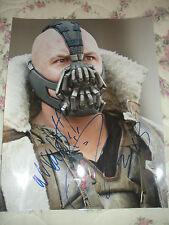 Tom Hardy The Dark Knight Rises Bane SIGNED 11x14 Photo COA!