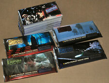 Star Wars Empire Strikes Back Widevision 144 Card Base Set + 4 Wrappers wide