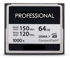 64GB CF 1000x Compact Flash Memory Card for Canon EOS 40D 50D 5D 7D Mark II