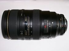 Nikon 80-400mm f/4.5-5.6 D ED AF VR Telephoto Zoom Lens EU