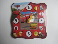 👿 Puzzle Horloge Apprendre L'heure Disney Pixar Cars Neuf
