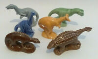 Collectable Wade Whimsies Set of 6 Dinosaurs