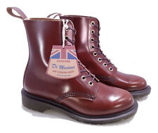 Dr. Martens Doc England MIE Tan Boanil Brush Pascal Boots UK 3 US 5