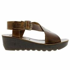 FLY London Platforms & Wedges 100% Leather Sandals for Women