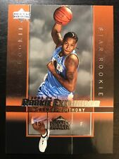 2003-04 (BKB) Upper Deck Rookie Exclusives #3 Carmelo Anthony RC