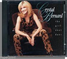 Crystal Bernard - The Girl Next Door - New 1996 River North Country CD!