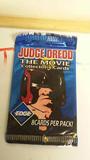 JUDGE DREDD THE MOVIE COLLECTORS CARDS 8 CARDS IN THE PACK NEW RETRO