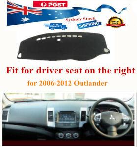 Car DashMat Sun Cover Dashboard Dash Mat For Mitsubishi Outlander 2006-2012