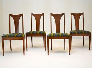 Broyhill Saga Dining Chairs set of 4 vintage mid century modern