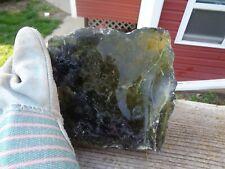 Glass Rock Slag Clear Olive Green 4.4 lbs Rocks Ww89 Landscaping Aquarium