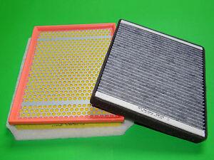 Aktivkohle Pollenfilter + Luftfilter Opel Zafira B 1.6 Turbo (110kW/150PS)