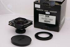 Sinaron Digital 55mm f/4.5 Cmv lens. Sinar p3, Sinar f3, Sinar p3 Sl view camera
