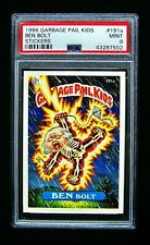 GARBAGE PAIL KIDS - 1986 - 5th Series #191a Ben Bolt - OS5 - Graded - PSA 9 MINT