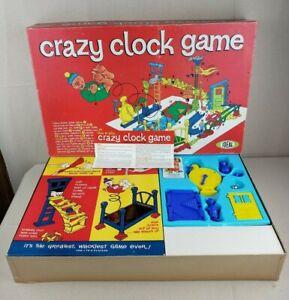 Crazy Clock Game Ideal 1964 3D Build It Action Game HTF Complete - READ DESCRIP