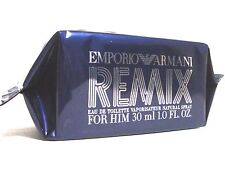EMPORIO ARMANI REMIX FOR HIM 1 FL OZ MEN PERFUME EDT SPRAY 30 ML NIB