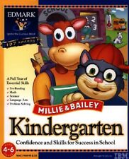 Millie and Bailey Kindergarten Pc Mac New Cd Rom In Paper Sleeve Free US Ship XP