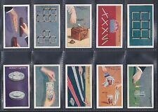 More details for gallaher, tricks & puzzles series (black back) set of 100 (1933)