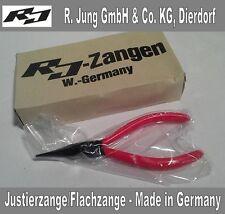 Justierzange/Flachzange 135 mm flach-breit Elektronikzange Made in Germany